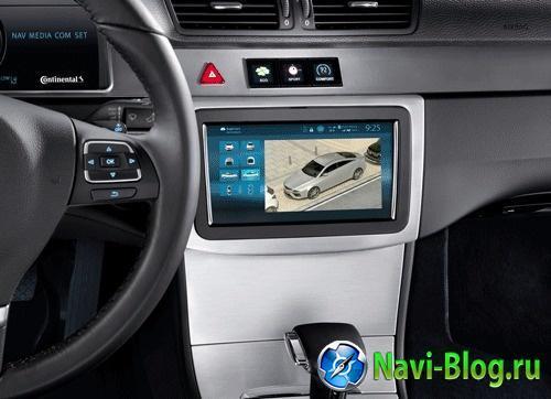 Continental будет использовать 3D навигацию Nokia/HERE в своей новой информационно развлекательной платформе | трёхмерная GPS навигация Nokia MirrorLink IAA Frankfurt Motor Show 2013 GENIVI Continental