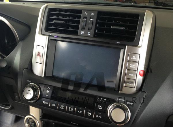 Пример установки Android автомагнитолы Ca Fi на Toyota Prado 150 |