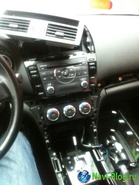 Замена штатной магнитолы в Mazda 6 new 2010 г. на андроид автомагнитолу Ca Fi |