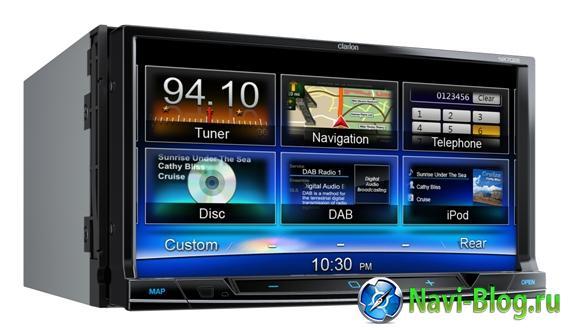Автомобильные навигаторы Clarion обзавелись картами СитиГИД | СитиГид Сити Гид обзор Автомагнитола Clarion NX302E Clarion CityGuide City Guide 2Din автомагнитола 2DIN