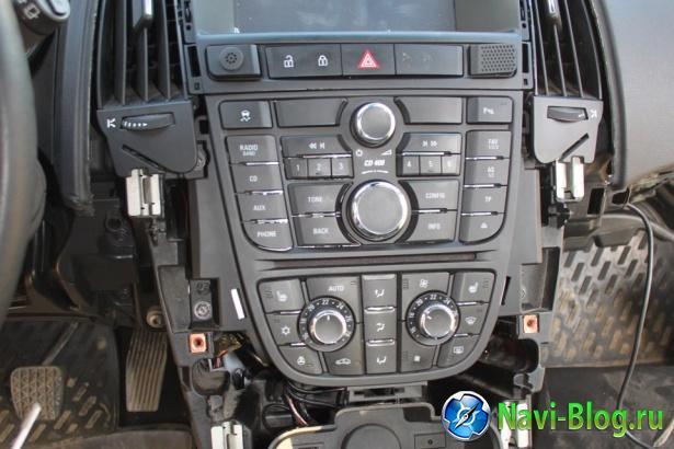 Пример установки Android магнитолы Ca Fi на Opel Astra J |