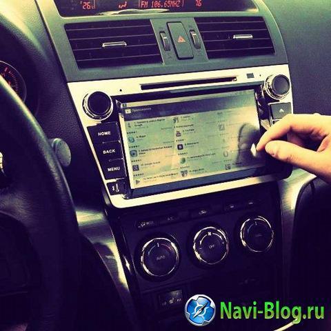 Замена штатной магнитолы на Mazda6 New на Android автомагнитолу Ca Fi |