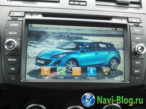 Установка автомагнитолы Ca Fi (Android) на Mazda 3 New. Фотоотчёт.  
