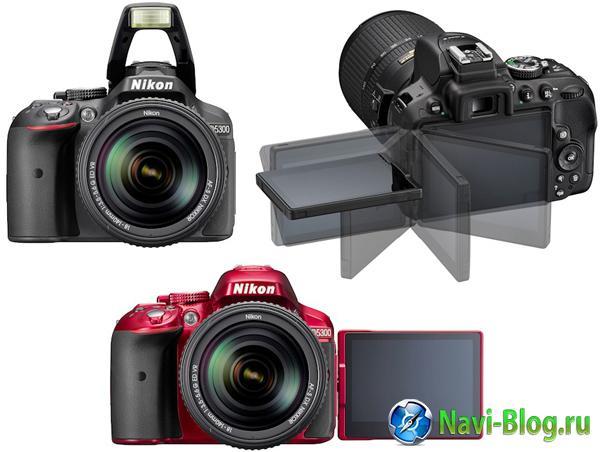 Nikon D5300: 24,2 Мп цифрозеркалка формата DX с поддержкой Wi Fi и GPS | фотоаппарат с GPS Nikon D5300 Nikon