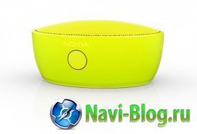 Автомобиль без проводов  Nokia выпускает беспроводной динамик MD 12 | Автомобильная навигация Автомагнитола Nokia Device Hub Nokia