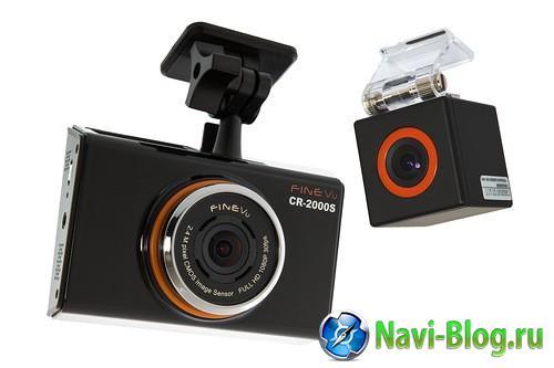 Начинаются продажи первого в России Double Full HD регистратора   FineVu CR 2000S  | видеорегистратор Автомобильная навигация GPS устройства GPS навигация FineVu CR 2000S