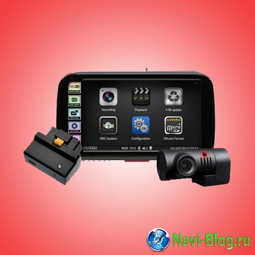 Модульные автомобильные видеорегистраторы   CAMMSYS BlackSys CF 100 series | программа навигации навигационная система Навигационная программа навигатор Автомобильная навигация GPS устройства GPS навигация gps навигатор BlackSys CL 100B OBDII 2CH