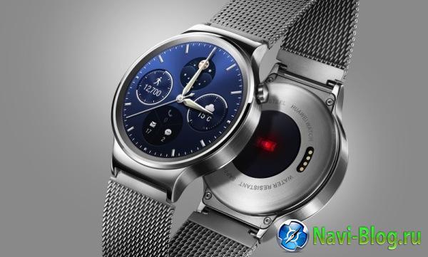 Huawei демонстрирует на MWC 2015 свои первые смарт часы на Android Wear  