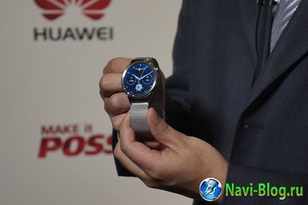 Стали известны европейские цены умных часов Huawei Watch |
