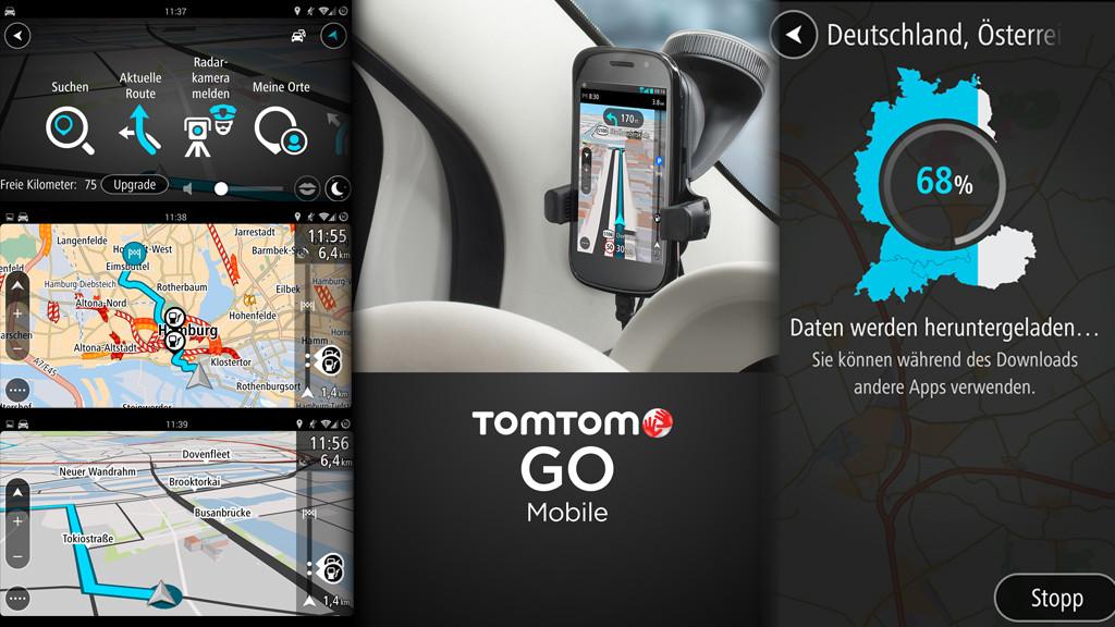 TomTom GO Mobile скачали более 750.000 раз  