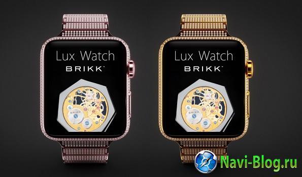 Смартчасы Apple Watch с бриллиантами оценены в 115 000 долларов |