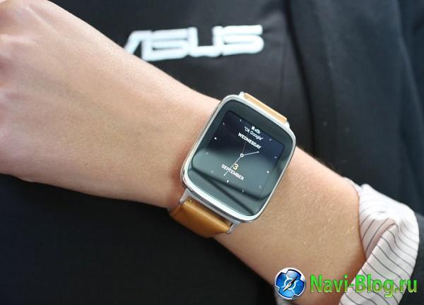 Второе поколение умных часов ASUS ZenWatch позволит совершать звонки без смартфона |