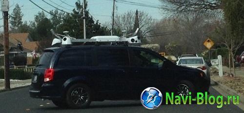 Apple тестирует беспилотные автомобили?  