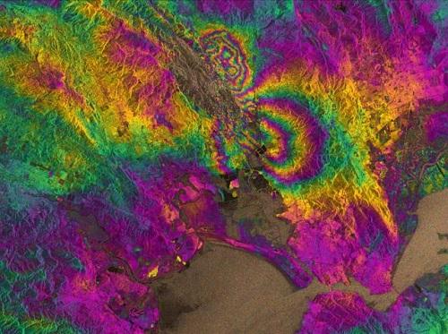 GPS позволяет определять масштабы разлома при землетрясении   программа навигации Новые технологии новости навигации Новости Навигация навигационная система Навигационная программа навигационная GPS платформа математические прогнозы GPS устройства GPS новости
