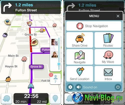 Разработчики Waze представили обновленную версию своего навигационного GPS приложения |