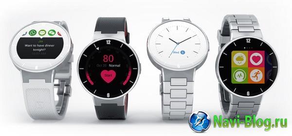 Умные часы Alcatel OneTouch Watch будут представлены на CES 2015 |