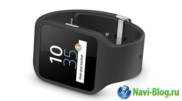 IFA 2014: Sony представляет умные часы SmartWatch 3 с трансрефлективным экраном и ОС Android Wear |