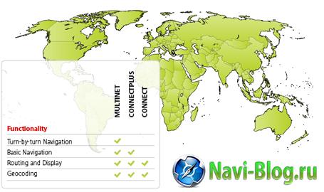 TomTom объявила о расширении своего картографического покрытия на 4 страны |