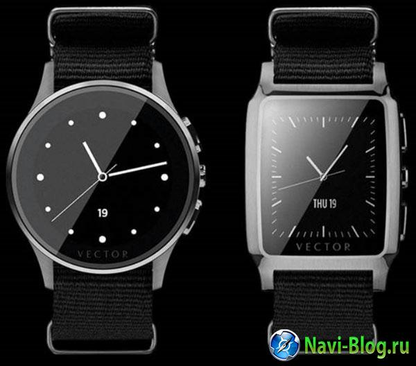 «Умные» часы Vector заряжаются раз в 30 дней |