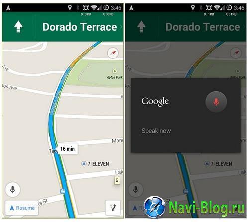 Google представила крупное обновление мобильного GPS приложения Google Maps |
