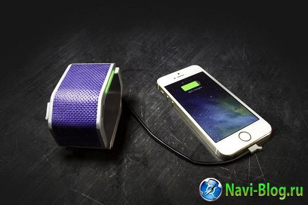 С помощью солнечной батареи браслет SolarHug сможет подзарядить смартфон  