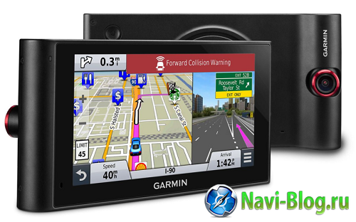 Два в одном: новый GPS навигатор и видеорегистратор от Garmin |