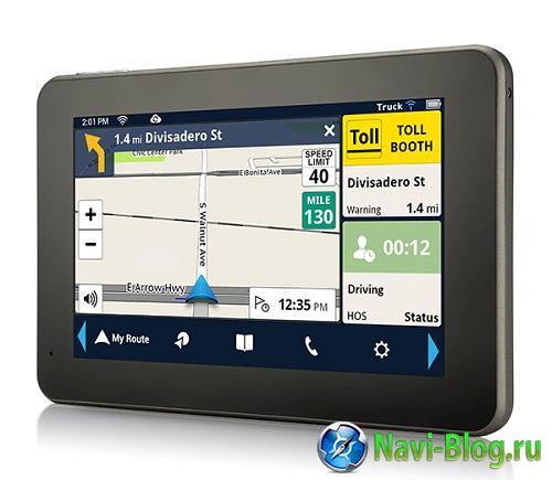 Magellan представила новый GPS навигатор для дальнобойщиков |