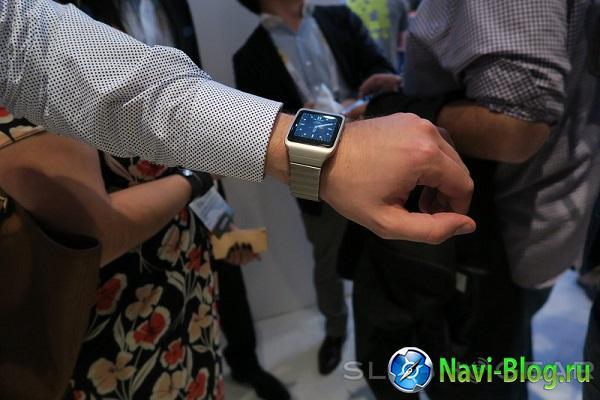 На CES 2015 представлены умные часы Sony SmartWatch 3 в корпусе из нержавеющей стали | умные часы смарт часы Sony SmartWatch Sony Smartwatch 3 smart watches smart watch CES 2015