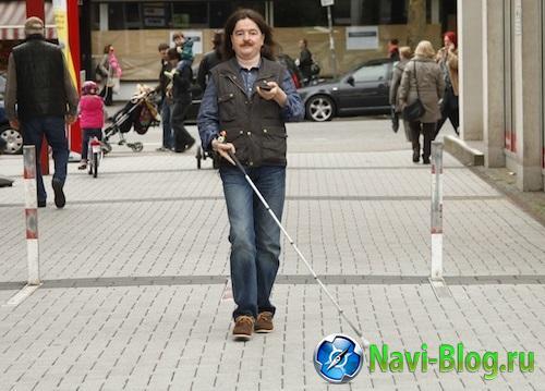 В университете Миннесоты разрабатывают навигационное приложение для слепых и слабовидящих людей |
