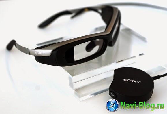 Sony готовится к коммерческому выпуску SmartEyeglass |