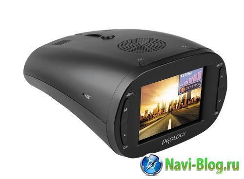 Долгожданный Prology iOne 1000 открывает новый класс устройств | радар детектор видеорегистратор Prology iOne 1000 Prology GPS приемник