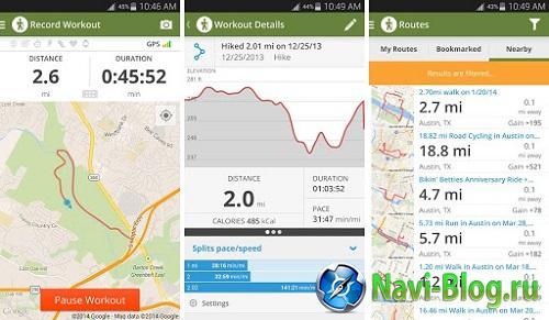 Top 5 GPS приложений для туристов |