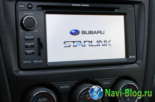 Subaru продемонстрировала платформу STARLINK |