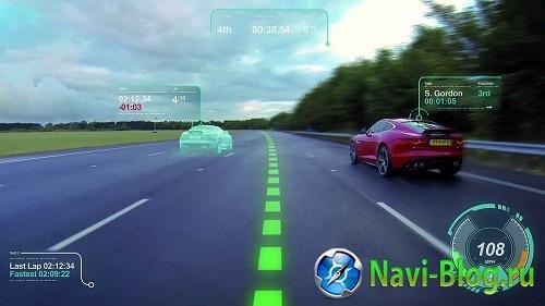 Подразделение Jaguar Research представило собственные концепты с элементами дополненной реальности |