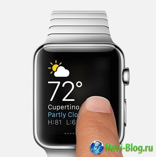 Apple рассказала о функциях умных часов Watch |