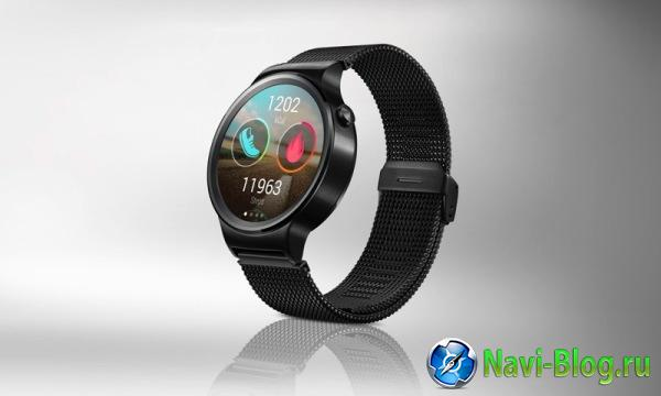Huawei демонстрирует на MWC 2015 свои первые смарт часы на Android Wear |
