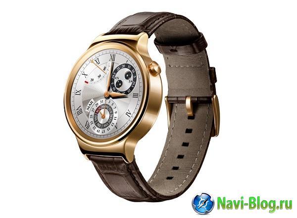 Смартчасы Huawei Watch скоро поступят в продажу |