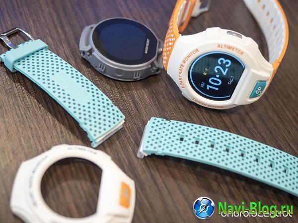 На IFA 2015 Alcatel показала яркие защищенные смарт часы OneTouch Go Watch  