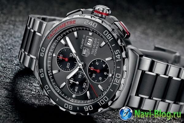 Умные часы TAG Heuer обойдутся покупателям в 1800 долларов  