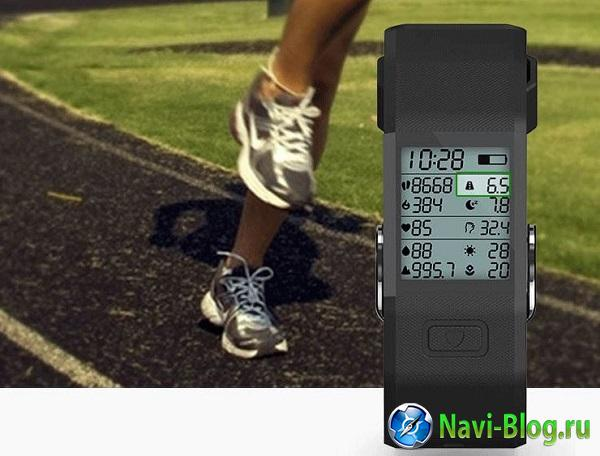 Выпущен фитнес трекер Hesvitband S3 с термометром и барометром |