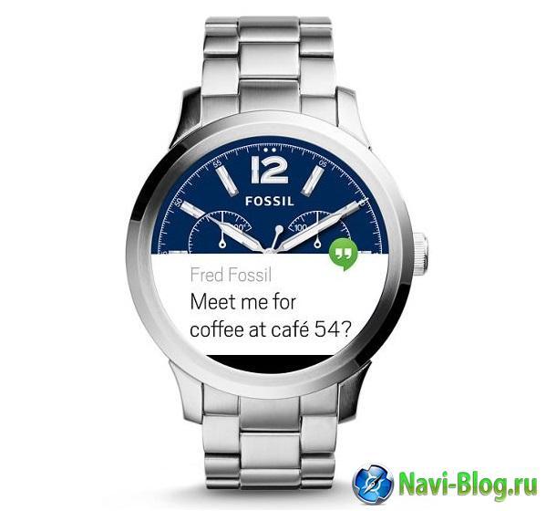 Начались продажи умных часов Fossil Q Founder  