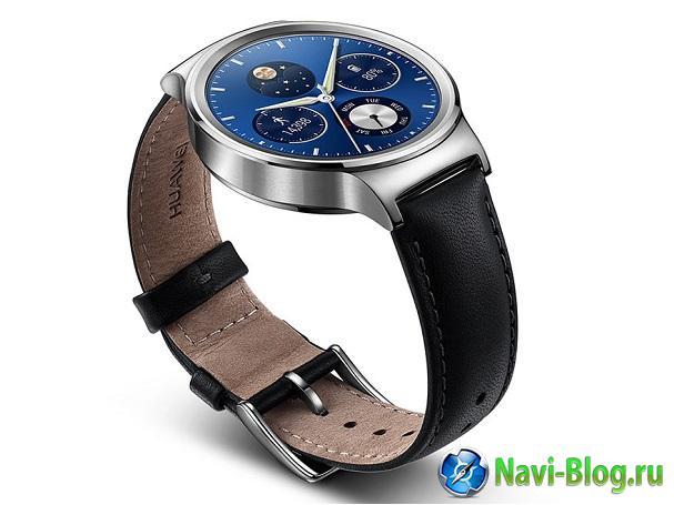 Смарт часы Huawei Watch выходят в России |