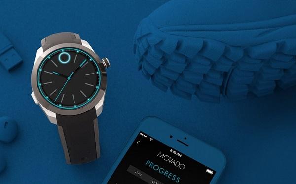 Состоялся анонс умных часов Movado Bold Motion |