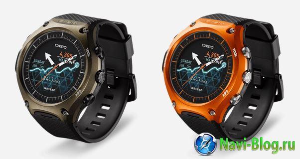 Casio представила свои первые умные часы на Android Wear   умные часы умные гаджеты гаджеты Casio WSD F10 Smart Outdoor Watch Casio Android Wear.