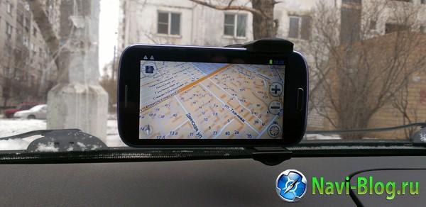 смартфон-навигатор GlobusGPS GL-800 Sky