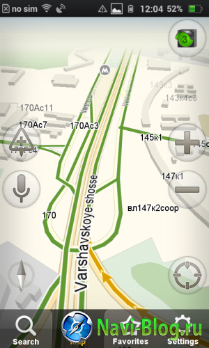 yandexnavigator screenshot