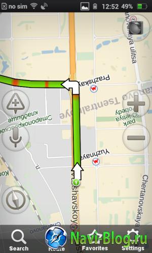 yandexnavigator screenshot