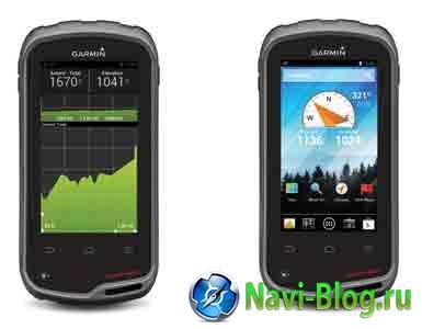 Garmin monterra – новый навигатор на базе Android