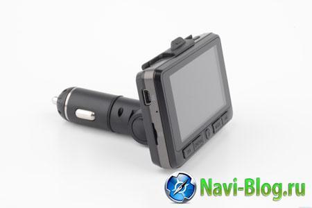 Автомобильный видеорегистратор ACV GQ15 - дисплей.