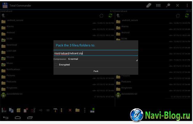 Скриншот Total Commander